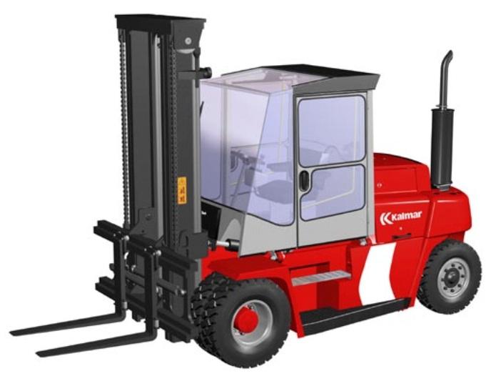 Kalmar Dieselstapler DCE80-6