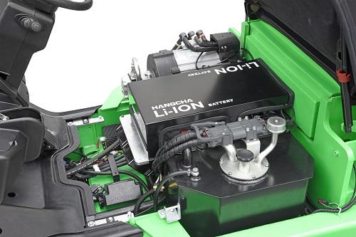 Hangcha XC-Serie CPD20-25 mit geöffneter Haube